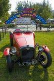 Η Ασία Κίνα, Πεκίνο, κλασικό αυτοκίνητο παρουσιάζει, αυτοκίνητο του Herbert Ώστιν το 1929 Στοκ Εικόνες