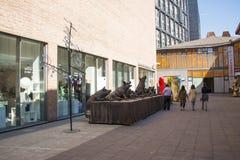 Η Ασία Κίνα, Πεκίνο, yuan περιοχή τέχνης οδών 22, σχεδιάζει την καινοτόμο πολιτιστική οδό Στοκ φωτογραφία με δικαίωμα ελεύθερης χρήσης