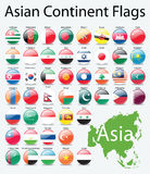 η ασιατική ήπειρος κουμπ& Στοκ εικόνες με δικαίωμα ελεύθερης χρήσης