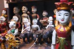 η ασιατική μαριονέτα εμφα&nu στοκ φωτογραφία με δικαίωμα ελεύθερης χρήσης