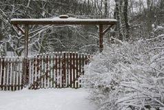 Η δασική πύλη στοκ φωτογραφία με δικαίωμα ελεύθερης χρήσης