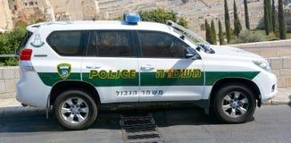 Η αστυνομία του Ισραήλ Στοκ εικόνες με δικαίωμα ελεύθερης χρήσης