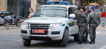 Η αστυνομία του Ισραήλ Στοκ φωτογραφία με δικαίωμα ελεύθερης χρήσης