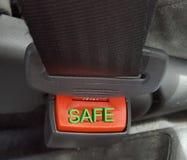 Η ασφαλής ζώνη στοκ εικόνες