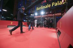 Η ατμόσφαιρα παρευρίσκεται στο Berlinale Στοκ Εικόνες