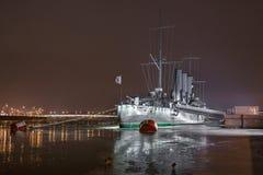 Η αυγή ταχύπλοων σκαφών, Αγία Πετρούπολη Στοκ φωτογραφίες με δικαίωμα ελεύθερης χρήσης