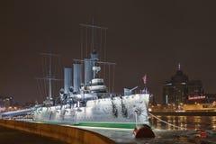 Η αυγή ταχύπλοων σκαφών, Αγία Πετρούπολη Στοκ φωτογραφία με δικαίωμα ελεύθερης χρήσης