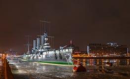 Η αυγή ταχύπλοων σκαφών, Αγία Πετρούπολη Στοκ Φωτογραφίες