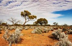 Η αυστραλιανή έρημος, ο εσωτερικός Στοκ φωτογραφία με δικαίωμα ελεύθερης χρήσης