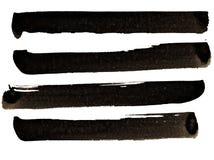 η αφηρημένη βούρτσα χρωμάτισε την πραγματική σύσταση κτυπημάτων επισημαμένος ήταν Στοκ Φωτογραφίες