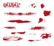 η αφηρημένη βούρτσα χρωμάτισε την πραγματική σύσταση κτυπημάτων επισημαμένος ήταν ελεύθερη απεικόνιση δικαιώματος