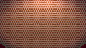 Η αφηρημένη μαλακή μορφή καρδιών χρώματος αργίλου dotts ορίζει δυναμικό ζωντανεψοντα υπόβαθρο ποιοτικών καθολικό κινήσεων υποβάθρ ελεύθερη απεικόνιση δικαιώματος