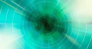Η αφηρημένη σύγχρονη ζωηρόχρωμη κίνηση το υπόβαθρο στο πράσινο χρώμα διανυσματική απεικόνιση