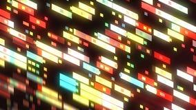 Η αφηρημένη τεχνολογία με το υπόβαθρο πολλών ορθογωνίων, επιφάνεια με την αντανάκλαση, τρισδιάστατη δίνει το υπόβαθρο, παραγωγή υ ελεύθερη απεικόνιση δικαιώματος