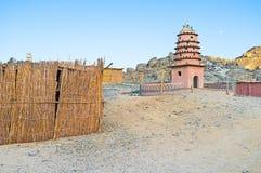 Η αφρικανική αρχιτεκτονική Στοκ εικόνα με δικαίωμα ελεύθερης χρήσης