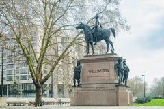 Η αψίδα του Ουέλλινγκτον Στοκ Φωτογραφία