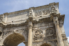 Η αψίδα του Constantine & x28 Arco Di Costantino& x29  - Στοκ Εικόνες