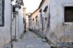 Η αλέα στο χωριό της Hong στοκ φωτογραφία με δικαίωμα ελεύθερης χρήσης