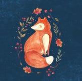 Η αλεπού Στοκ Εικόνα