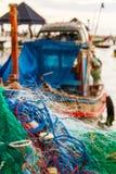 Η αλιεία είναι οι οικονομικοί πόροι των ντόπιων στοκ φωτογραφία με δικαίωμα ελεύθερης χρήσης