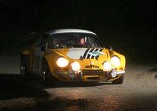 η αλπική Renault Στοκ Εικόνες