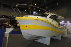 Η βάρκα του CNR Ευρασία παρουσιάζει στη Ιστανμπούλ Στοκ Εικόνα