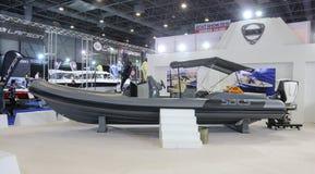 Η βάρκα του CNR Ευρασία παρουσιάζει Στοκ Εικόνα