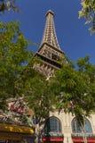 Η βάση πύργων ξενοδοχείων του Παρισιού στο Λας Βέγκας, NV στις 20 Μαΐου 2013 στοκ εικόνες