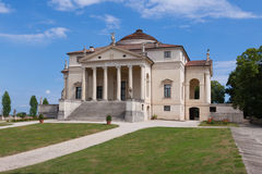 Η βίλα Rotonda από τη Andrea Palladio Στοκ φωτογραφία με δικαίωμα ελεύθερης χρήσης