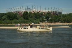 Η Βαρσοβία είναι Βαρσοβία αλλάζει Στοκ Φωτογραφίες