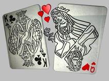 η βασίλισσα καρδιών παραπ&l Στοκ Φωτογραφία
