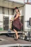 Η βασίλισσα του νεοσσού καρδιών συναντιέται Στοκ Φωτογραφίες