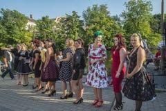 Η βασίλισσα του νεοσσού καρδιών συναντιέται Στοκ εικόνες με δικαίωμα ελεύθερης χρήσης