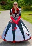 Η βασίλισσα των καρδιών Στοκ Εικόνες