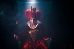 Η βασίλισσα των καρδιών Στοκ φωτογραφίες με δικαίωμα ελεύθερης χρήσης