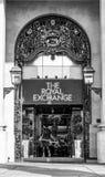 Η βασιλική ανταλλαγή στο Λονδίνο - λεωφόρος αγορών - ΛΟΝΔΙΝΟ - ΜΕΓΑΛΗ ΒΡΕΤΑΝΊΑ - 19 Σεπτεμβρίου 2016 Στοκ εικόνες με δικαίωμα ελεύθερης χρήσης