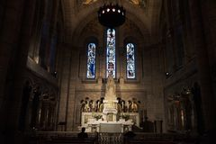Η βασιλική της ιερής καρδιάς στοκ εικόνα με δικαίωμα ελεύθερης χρήσης
