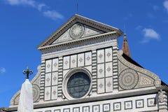 Η βασιλική της Φλωρεντίας Ιταλία Αγίου Mary κάλεσε επίσης τη Σάντα Μαρία αριθ. Στοκ Εικόνες