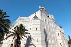 Η βασιλική Annunciation σε Nazareth Στοκ φωτογραφίες με δικαίωμα ελεύθερης χρήσης