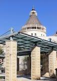 Η βασιλική Annunciation στη Ναζαρέτ, Ισραήλ Στοκ εικόνα με δικαίωμα ελεύθερης χρήσης