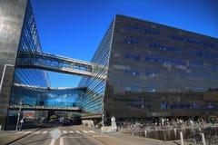 Η βασιλική βιβλιοθήκη της Κοπεγχάγης στην Κοπεγχάγη, Δανία Στοκ Φωτογραφία