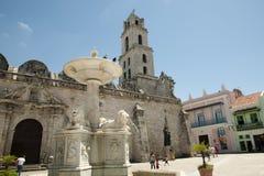 Η βασιλική και το μοναστήρι του Σαν Φρανσίσκο de Asis - της Αβάνας - της Κούβας Στοκ Φωτογραφία
