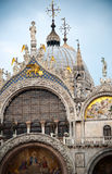 Η βασιλική του σημαδιού Αγίου στη Βενετία Στοκ φωτογραφία με δικαίωμα ελεύθερης χρήσης