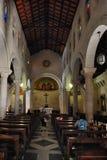 Η βασιλική Annunciation στη Ναζαρέτ Ισραήλ Στοκ Φωτογραφίες