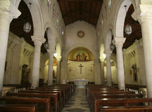 Η βασιλική Annunciation annunciation εκκλησία Ισραήλ nazareth Στοκ Φωτογραφία