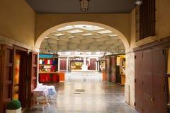 Η Βαλένθια Plaza Redonda είναι ένα στρογγυλό τετράγωνο στην Ισπανία Στοκ φωτογραφία με δικαίωμα ελεύθερης χρήσης
