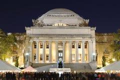 Η βιβλιοθήκη του Πανεπιστημίου της Κολούμπια στοκ εικόνα