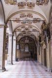 Η βιβλιοθήκη Archiginnasio της Μπολόνιας Στοκ εικόνες με δικαίωμα ελεύθερης χρήσης