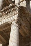 Η βιβλιοθήκη Celsus Στοκ εικόνα με δικαίωμα ελεύθερης χρήσης