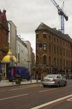 Η βικτοριανή πηγή Jaffe φιαγμένη από χυτοσίδηρο στην πλατεία Βικτώριας στο Μπέλφαστ Βόρεια Ιρλανδία Στοκ εικόνα με δικαίωμα ελεύθερης χρήσης